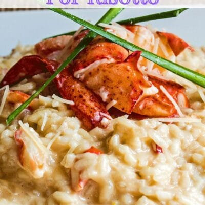 What to serve with risotto pin with text header.