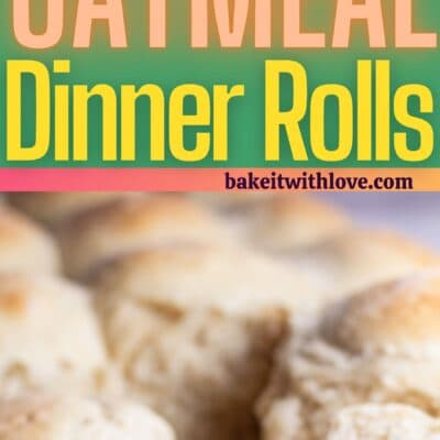 Oat rolls pin with 2 images and text divider.